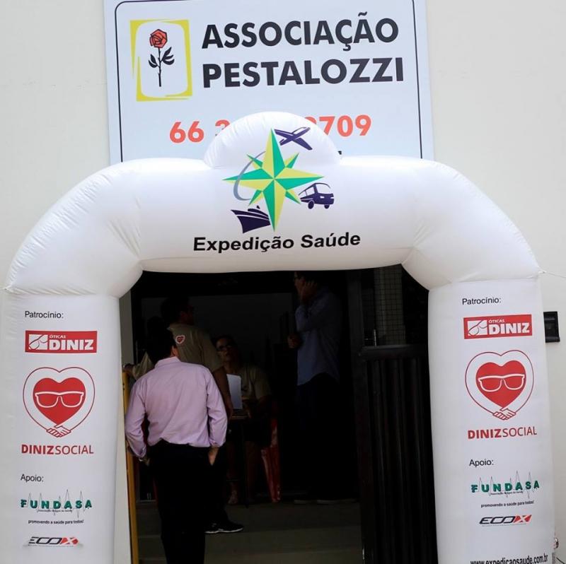 2d943977ecc83 Expedição Saúde contempla alunos de Juscimeira com consultas e óculos de grau  gratuito